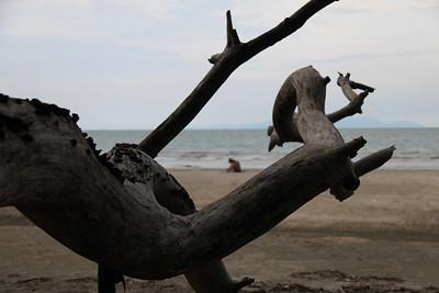 Przez jakis czas plażę mieliśmy tylko dla siebie