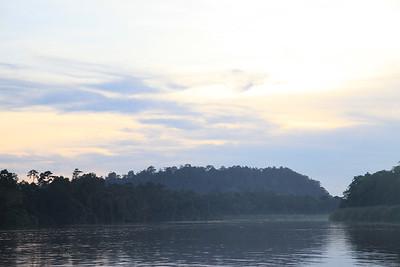 Zachód słońca - komary zaczną rypać
