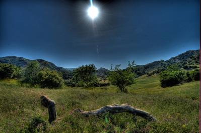 Nikon D800 HDR Malibu Landscapes Finished in Photomatix