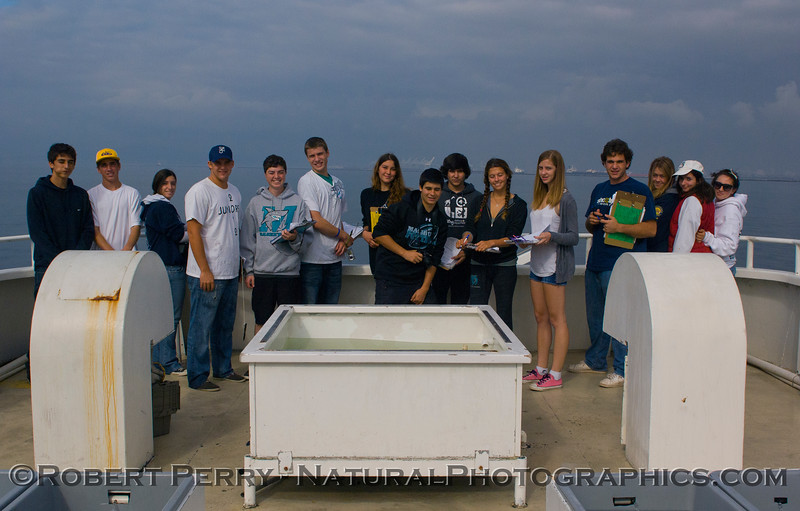class portrait students on RV Challenger 2011 10-25 Long Beach  a - 017