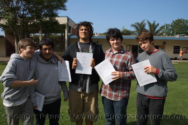 students Final Zuma projects 2013 05-17 Malibu-017