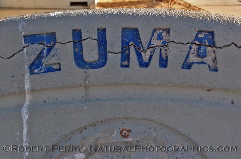 Zuma bench.