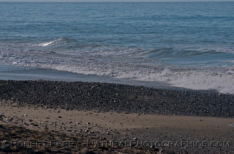 sand loss pebbles and shells exposed 2014 03-13 Zuma-002