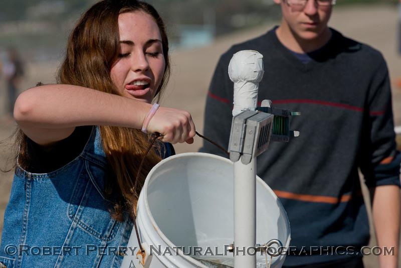 student enjoys pail of water 2013 01-31 Zuma-001