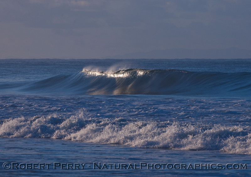 Early morning wave.