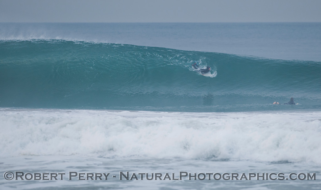 Clean, round waves made it difficult for all but the most advanced surfers.