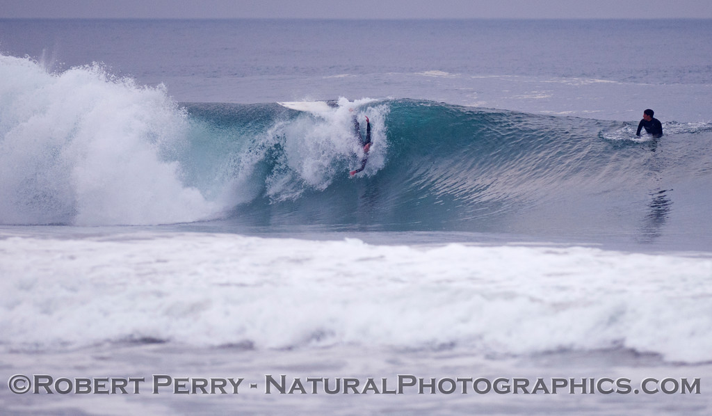 """Wipe out body surfer performs the classic """"El Roll-o."""""""