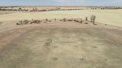 Saturday afternoon cricket match between Tempy v Ouyen Rams at the Tempy Memorial Park, Tempy, Victoria, Mallee Project