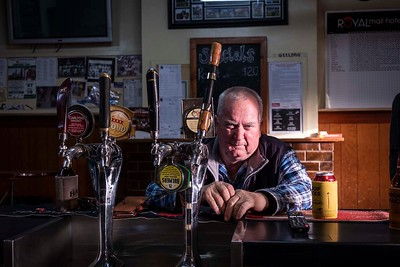 Royal Mail hotel, Wycheproof, Paul Hogan 58 yrs, farmer from Nullawil