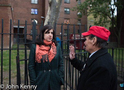 Malliotakis 110th/Lexington 11-7-17