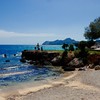 The beach at Cala Rajada