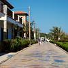 The esplanade at Cala Rajada