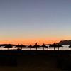 Start of sunrise