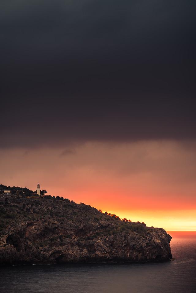 Sunset at Soller Port