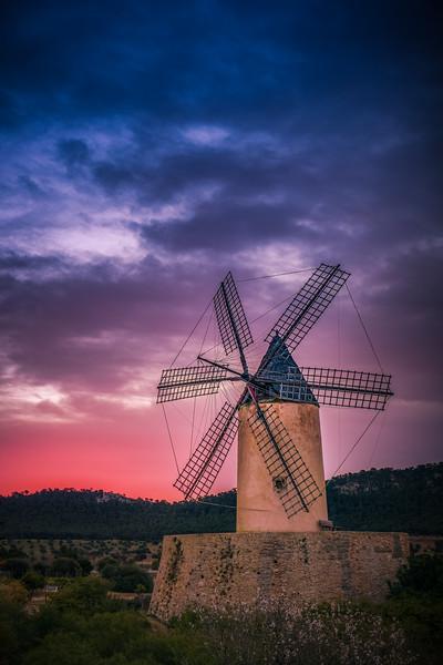 Santa Ponsa windmill vertical