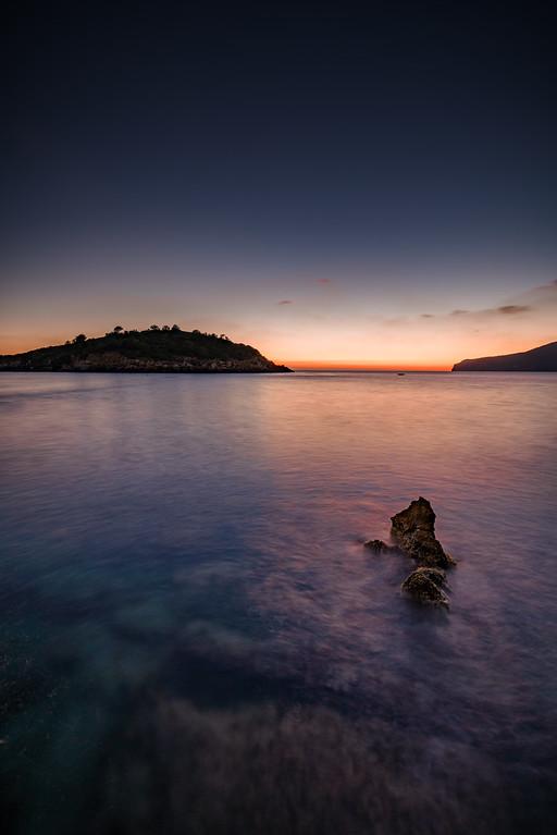 Sunset in Sant Elm, Mallorca