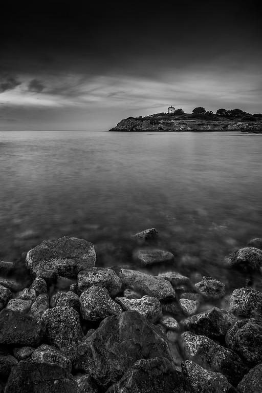 Old militar tower in Illetes beach (Mallorca)