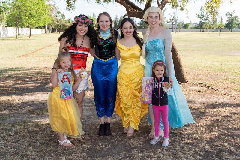 Princesses at the Park