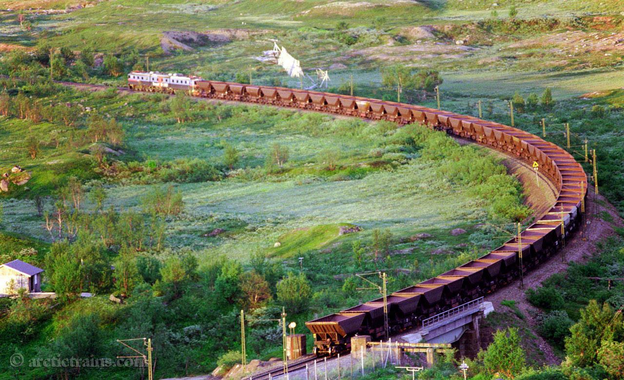 LKAB Dm3 Katterjaakk hp 1999-07-14 by TS