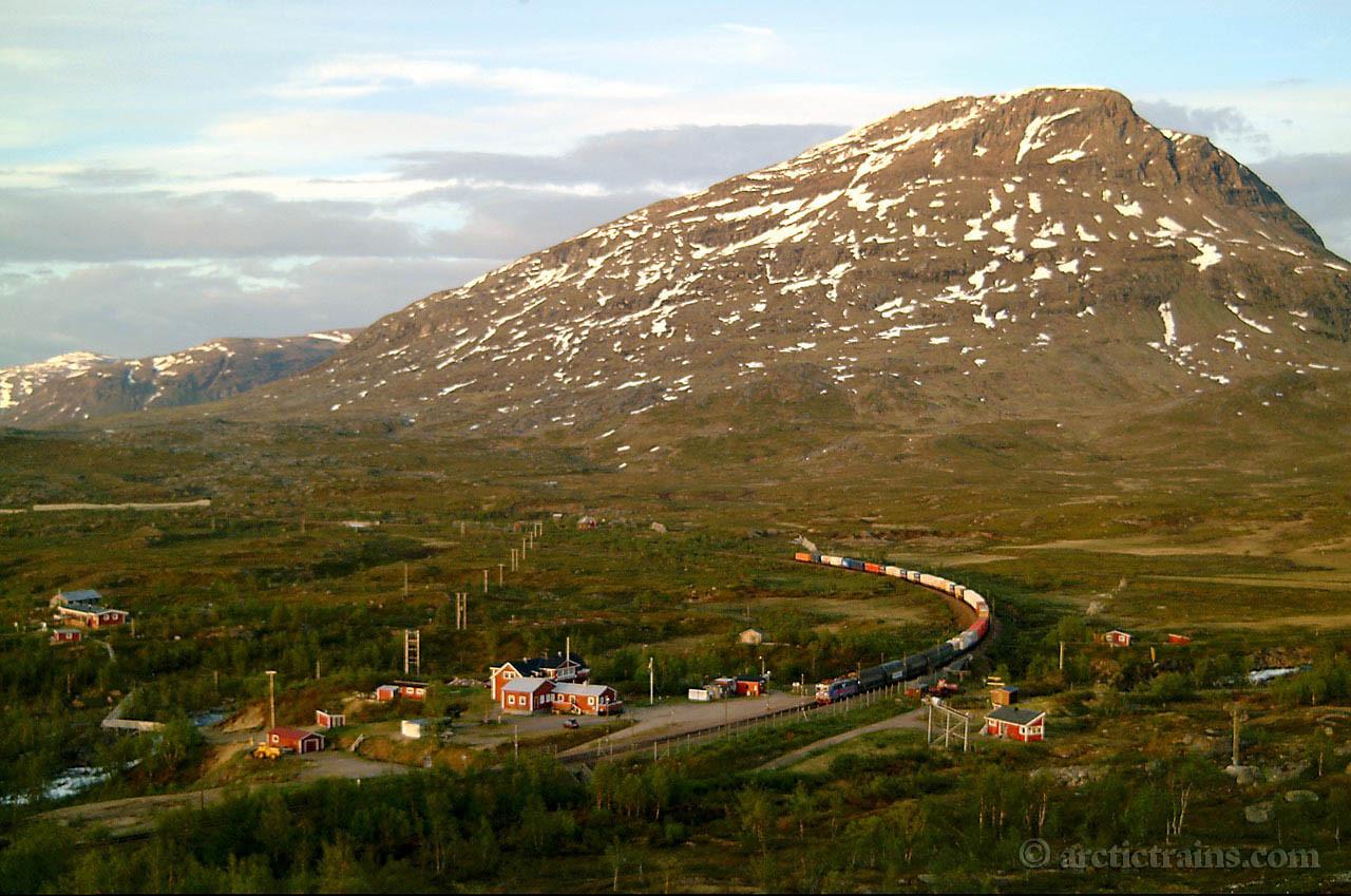 SJ Rc Katterjaakk hp Arctic Rail Express 2001-06-22 by TS