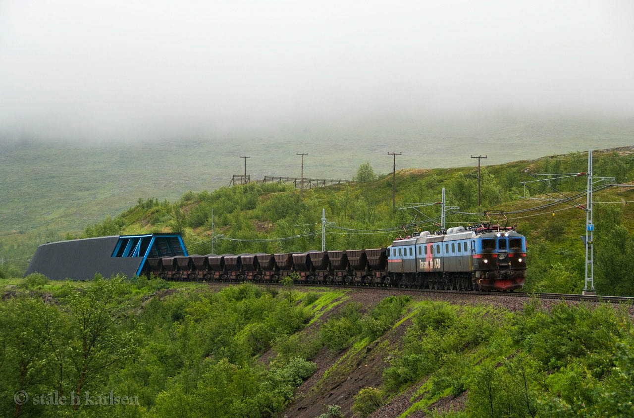 LKAB Dm3 1224 Vassijaure  2010-07-31 by Ståle Hatlelid Karlsen