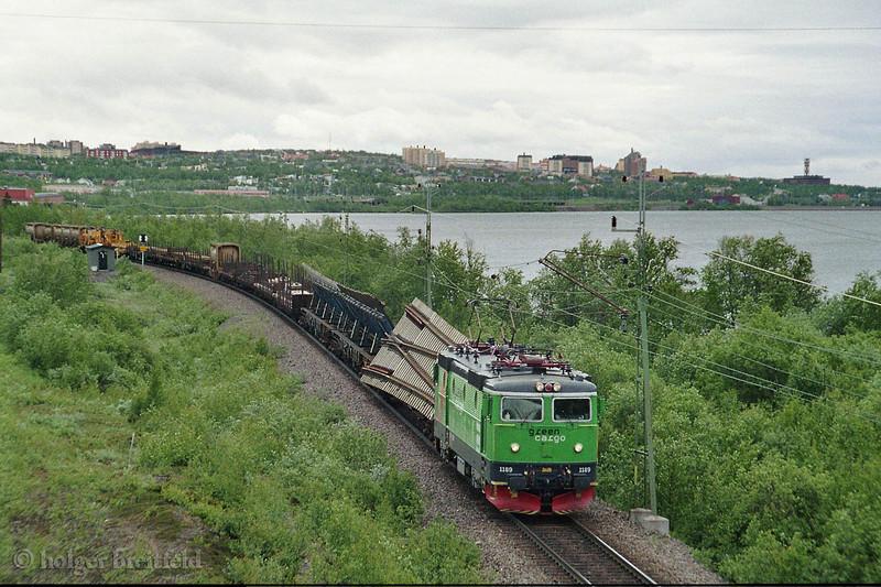 Green Cargo Rc4 1189 Kiruna 2006-06-27 by Holger Breitfeld