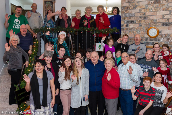 2015 Malone Family Christmas with Darlene Malone