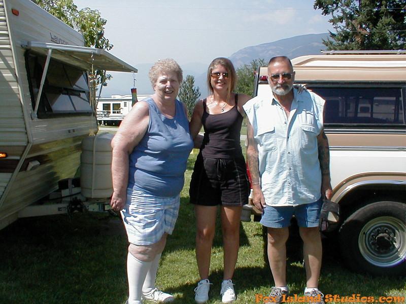 Mom Dad Sharon Alex Danni Camping at Sullivan Lake-29