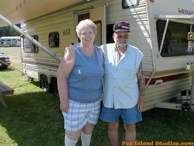 Mom Dad Sharon Alex Danni Camping at Sullivan Lake-27