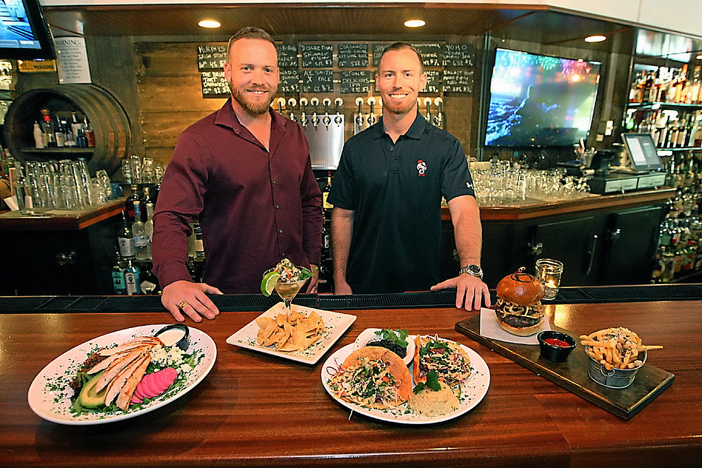 . Scotts Valley brothers Taylor and Ryan Fontana take over Malone\'s Grille, remodeling the restaurant and bar and revamping the menu.  (Dan Coyro -- Santa Cruz Sentinel)