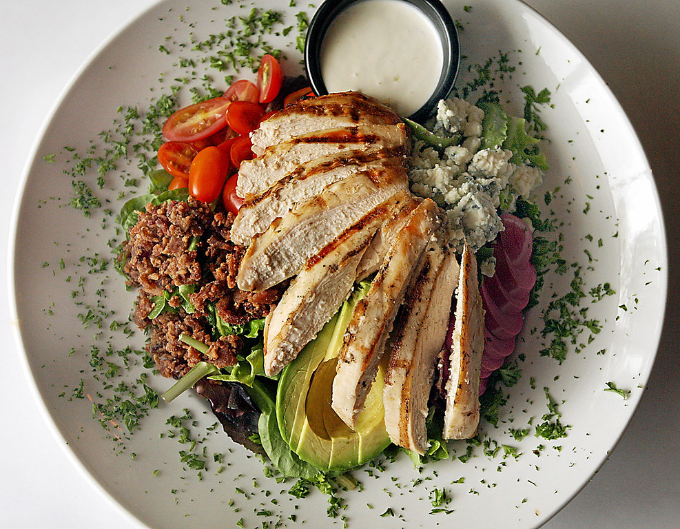 . The Cobb Salad at Malone\'s Grille in Scotts Valley.  (Dan Coyro -- Santa Cruz Sentinel)