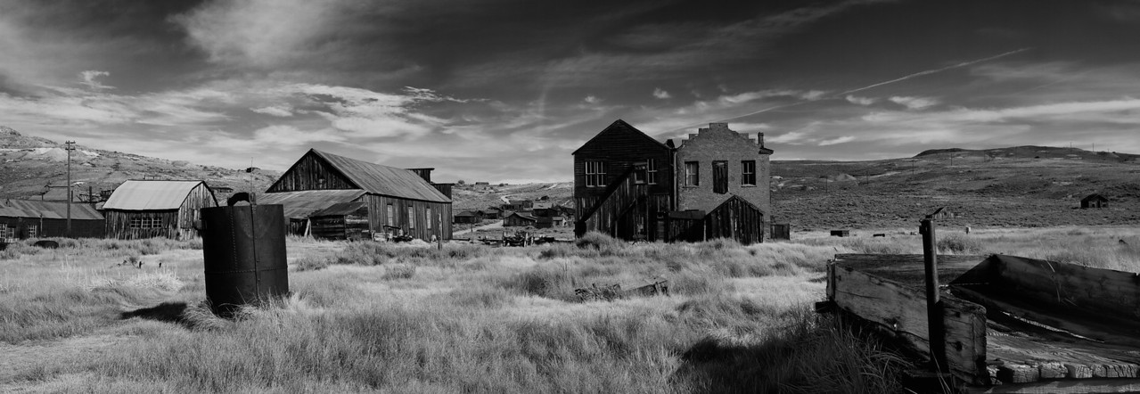 Bodie Ghost Town Panorama