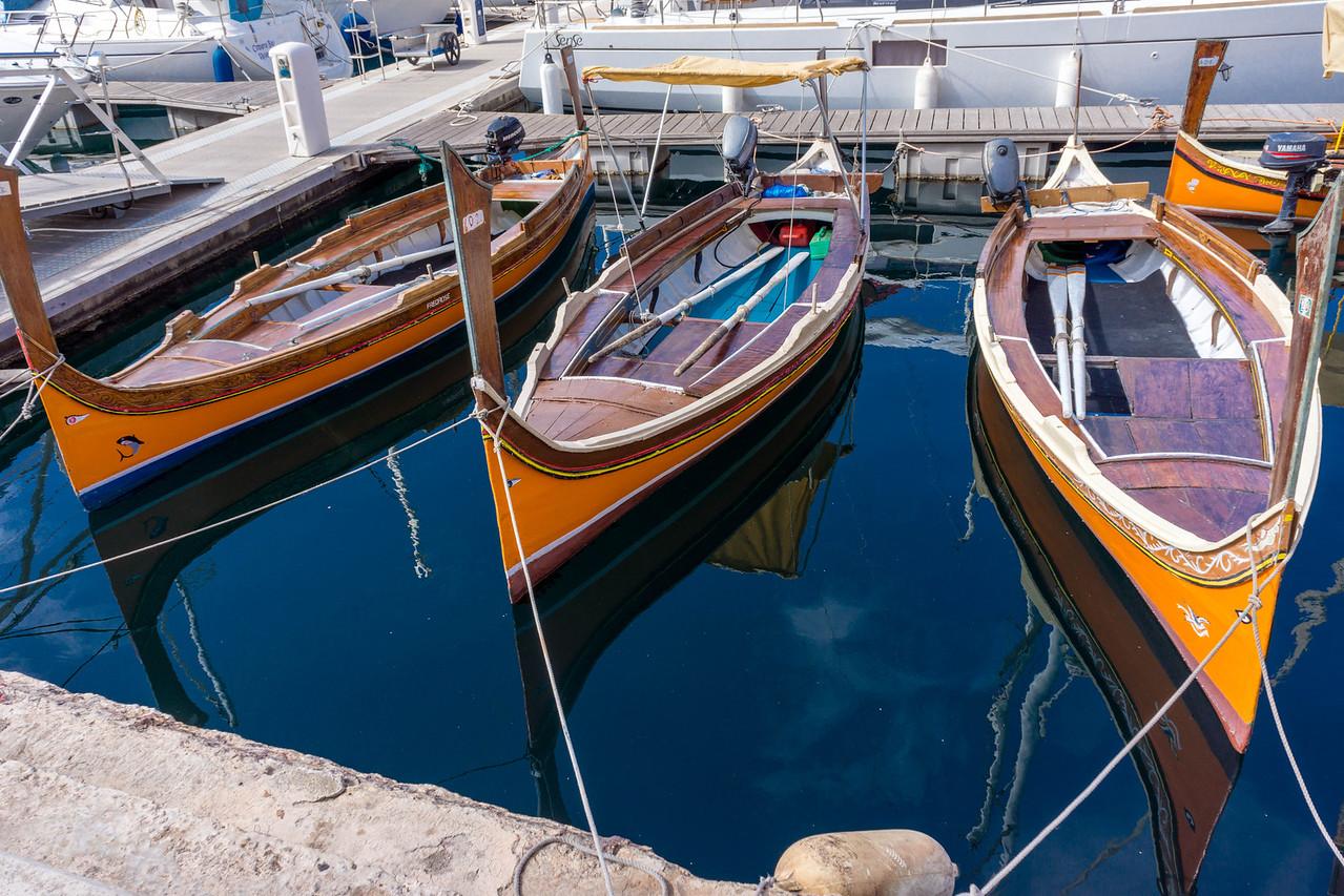 Three Maltese Boats