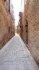 Quiet street, Mdina, Malta