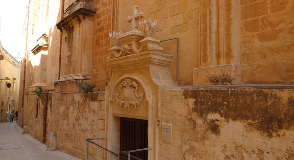 Ossuary, Church of St Rocque, Mdina, Malta
