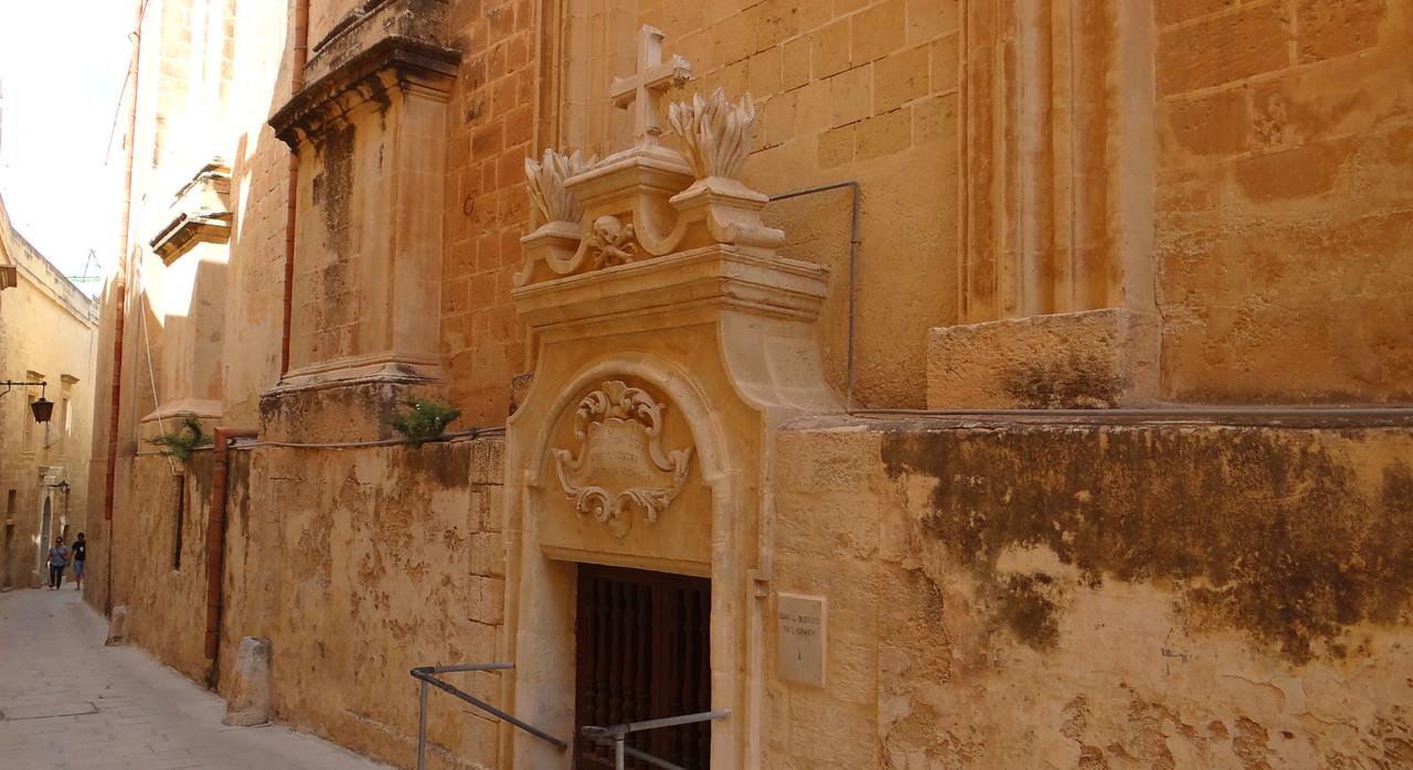Ossuary, Church of St Rocque, Mdina, Malta