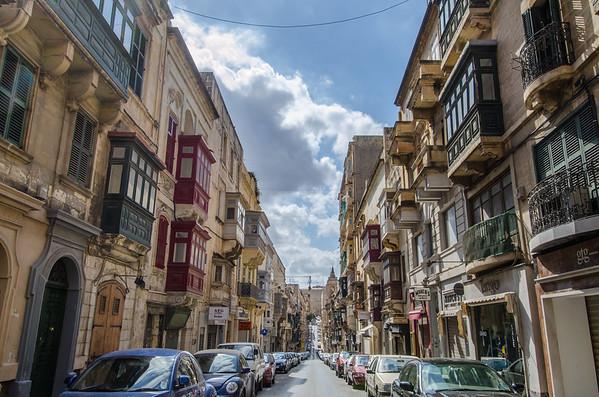 Colorful Valletta, Malta