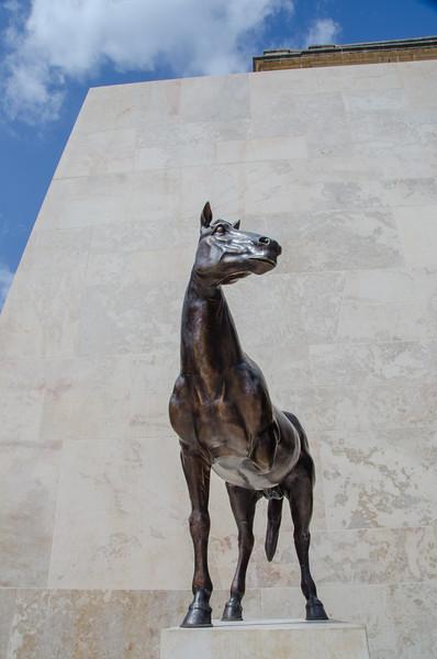 Three-Legged Horse Statue - Valletta, Malta