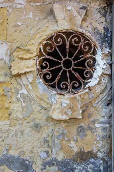 Scenes of urban decay in Valletta, Malta