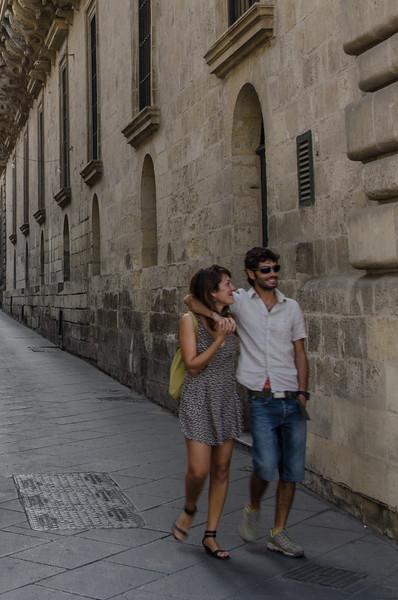 Romantic alleys of Valletta, Malta