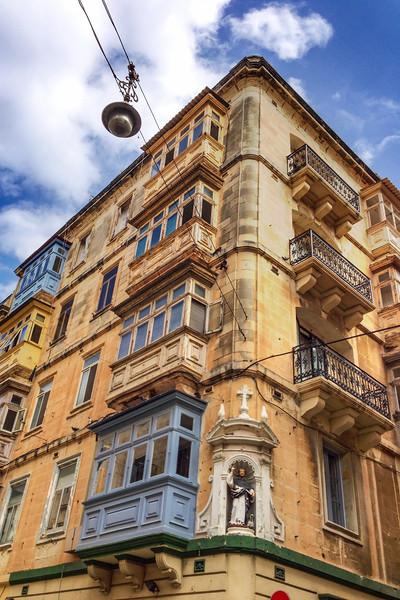 Faded beauty of Valletta, Malta