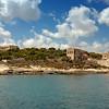 Manoel Island; as seen from the Sliema - Valletta ferry.