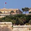 Malta's Central Bank; view from Birgu / Vittoriosa.