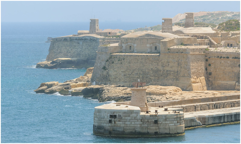 Fort With British Watch Towers