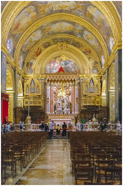 St. John's Co-Cathedral Interior