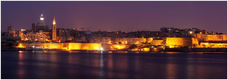Valetta at Night