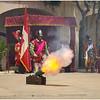 Firing Siege Cannon