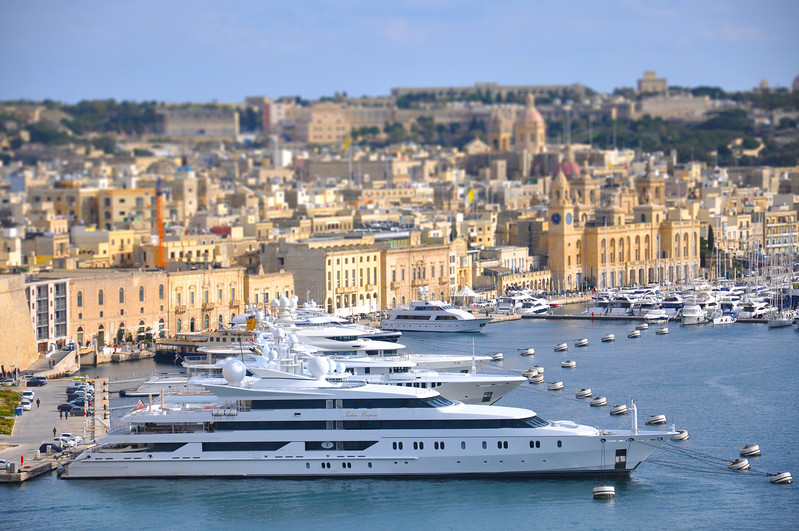 The Indian Empress in Valletta Harbour. 2018.