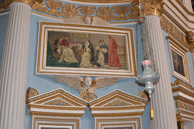 The Church of the Assumption of Our Lady, commonly known as the Rotunda of Mosta or Rotunda of St Marija Assunta (sometimes shortened to as The Mosta Dome) is a Roman Catholic church in Mosta, Malta.