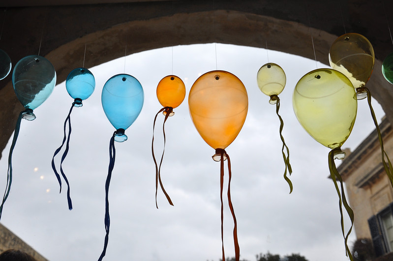 Mdina Glass Balloons. 2018.